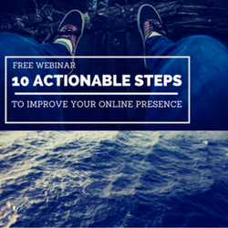 [FREE WEBINAR] 10 Actionable Steps to Improve Your Online Reputation