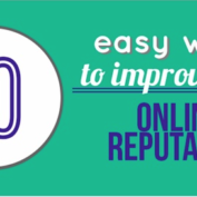 WEBINAR | 10 Easy Ways to Improve Your Online Reputation – Tomorrow 12/18, 2pm EST