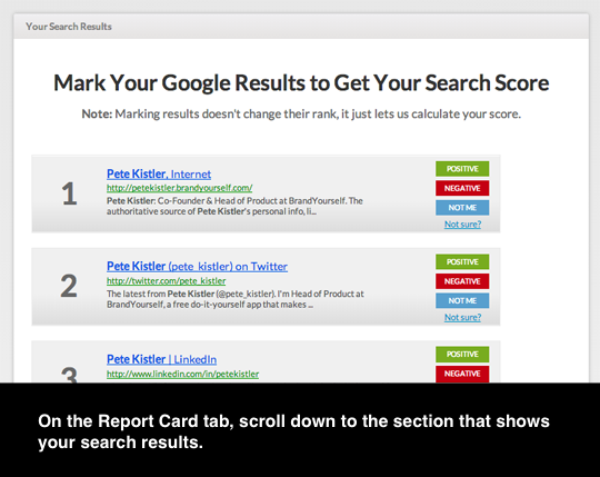 Tutorial: Get Your Search Score