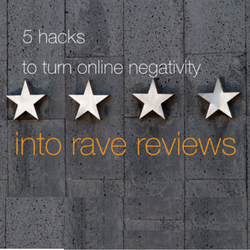 5 Hacks to Turn Online Negativity Into Rave Reviews for Your Business [WEBINAR]