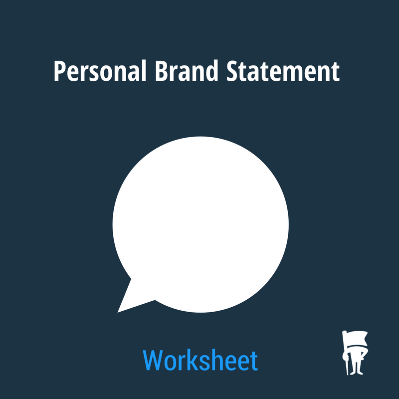 How to write your personal brand statement