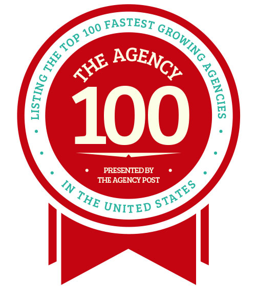 "BrandYourself Named #19 on ""Agency 100"" List"