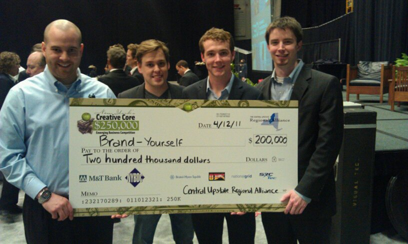 BrandYourself and Patrick Ambron winning New York's $200K Emerging Business Competetion