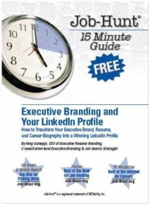 Personal Branding Books: Executive Branding and Your LinkedIn Profile