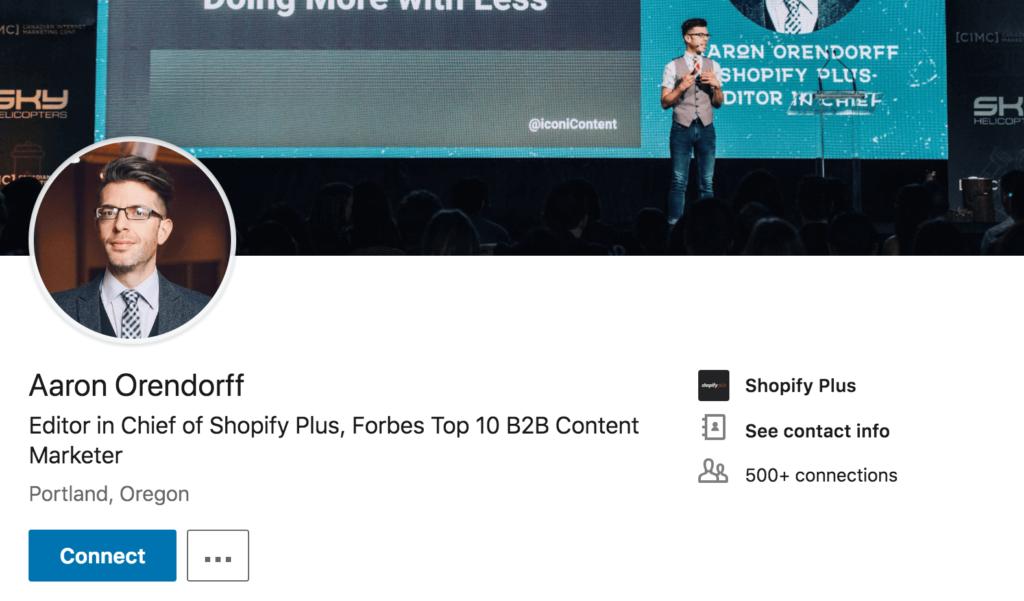 15 Of The Best LinkedIn Headline Examples Around