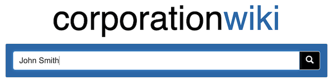 corporationwiki search bar