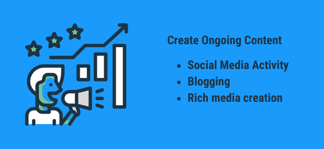 create ongoing content