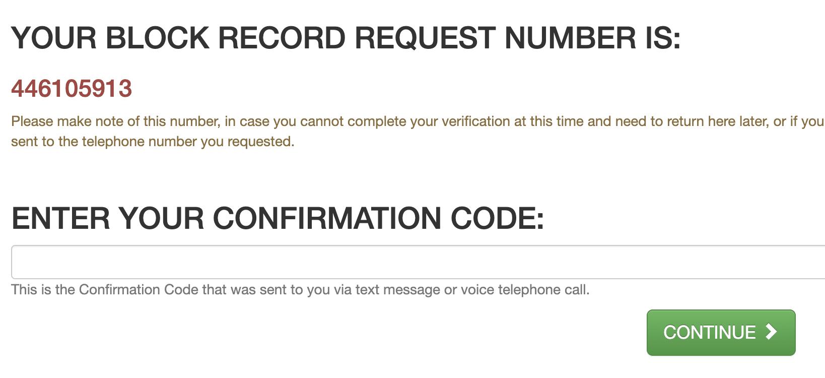dobsearch phone verification