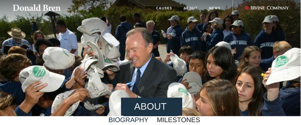 Donald Bren personal website.