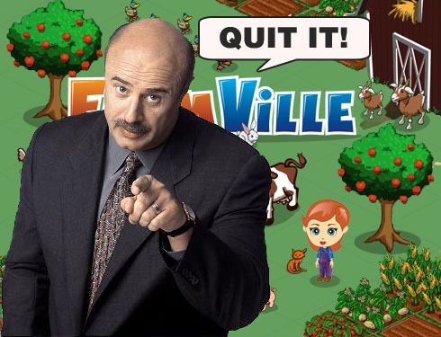 FarmVille's Here to Stay. Kick the Addiction.