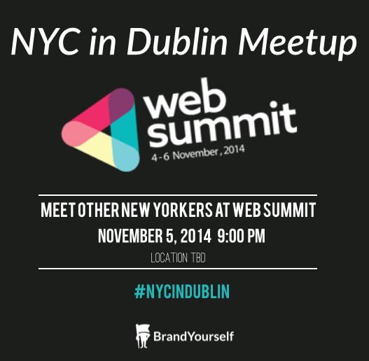 NYC in Dublin: Meet Other New Yorkers at #WebSummit 2014