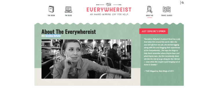 15 Of The Best Personal Website Examples Around 2019