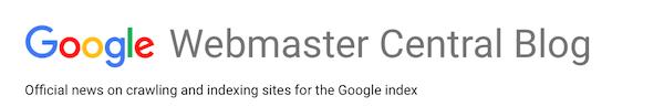 BrandYourself, Google webmaster central blog, logo
