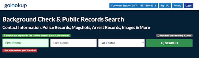 googlelookup homepage
