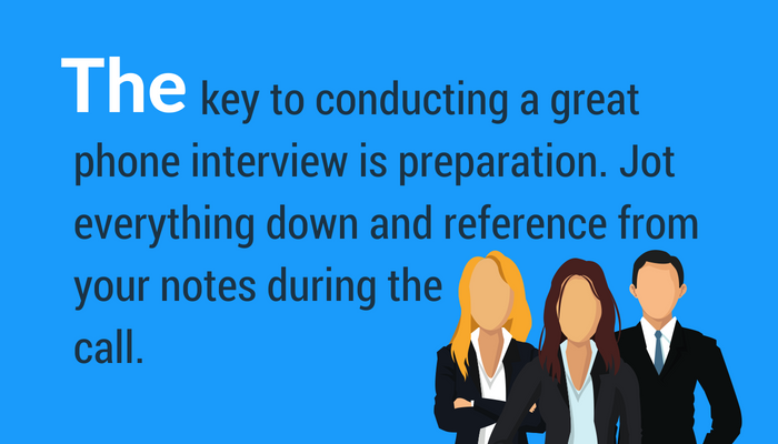 How to ace phone interview questions with great preparation