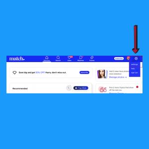 How to delete match profile