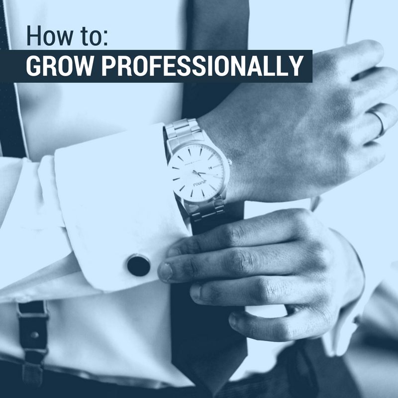 How To Grow Professionally