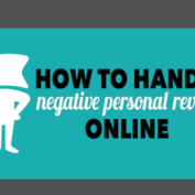 WEBINAR | How to Handle Negative Personal Reviews Online – Tomorrow 1/22, 2pm EST