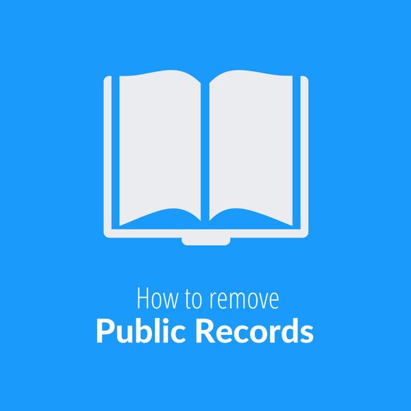 How to Remove Public Records