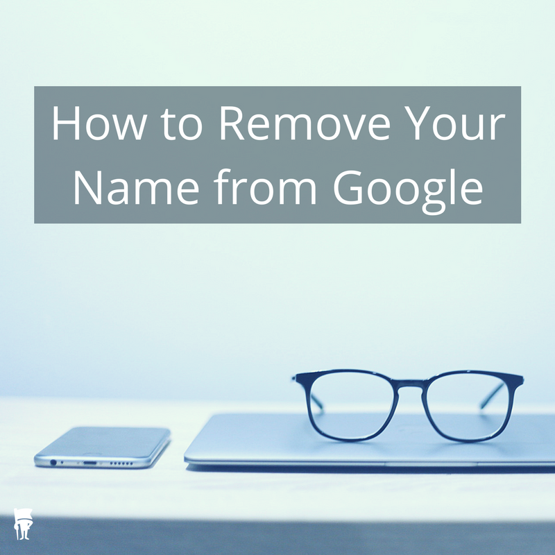 Remove information from Google