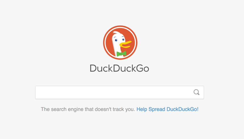 Maintaining your internet privacy with DuckDuckGo