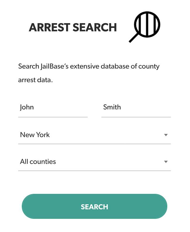 jailbase arrest search