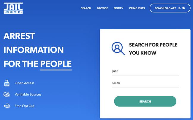 jailbase search