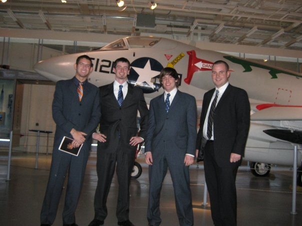 Brand-Yourself team at the 2009 Kairos Summit on the U.S.S. Intrepid