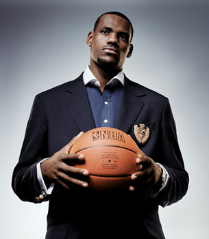 LeBron Shoots for the Ultimate Brand Personality