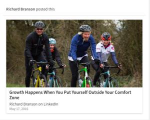 BrandYourself, linkedin, entrepreneurs, richard branson post