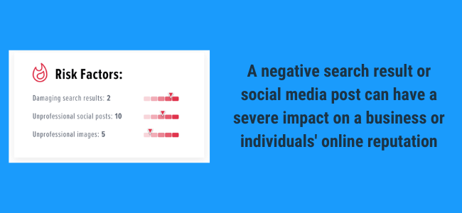 negative search results and social media