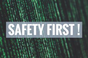 Safety First, code, BrandYourself, Online Reputation management