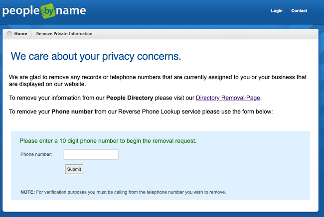 peoplebyname opt out form