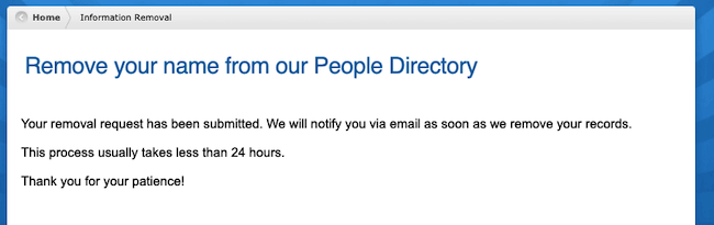 peoplebyname request has been submitted