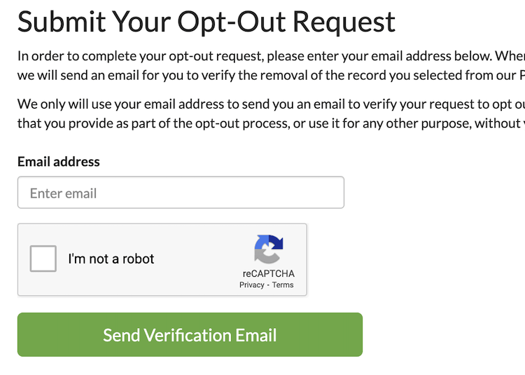 peoplesmart opt out form