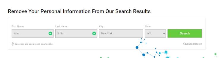 peoplwhiz search bar