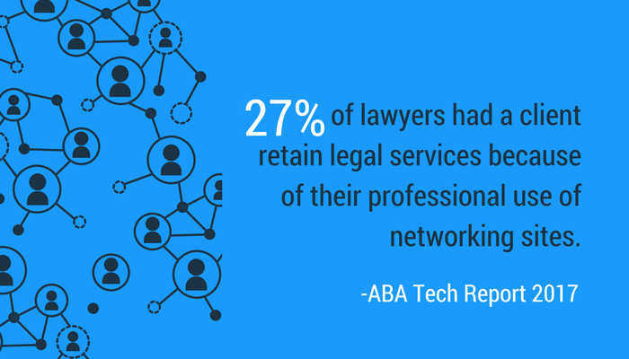 Effectively using networking sites is another important aspect of lawyer branding.