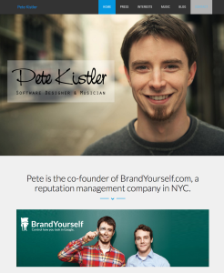 Pete Kistler Website