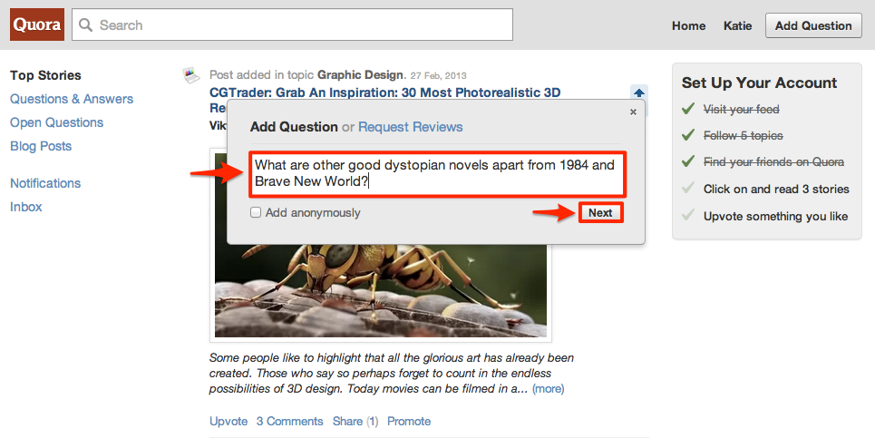 How to Add Questions on Quora
