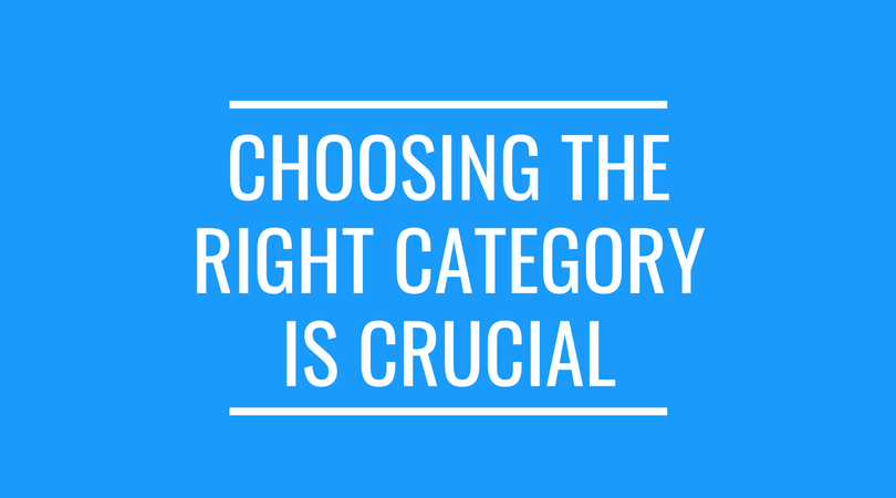 Choose the right category when taking down a YouTube video