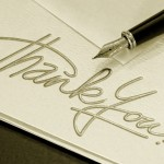 Job Search Tips – How to Write a Good Thank You Note
