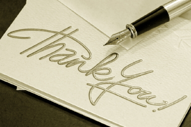 Job Search Tips: Example Thank You Notes