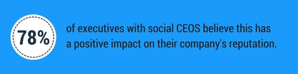 Social CEOs benefit their companies