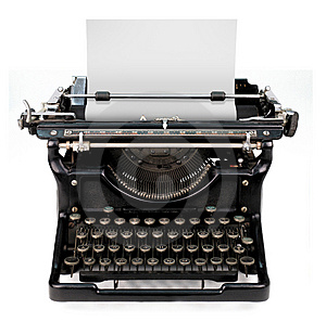 typewritter pic for cover letter article