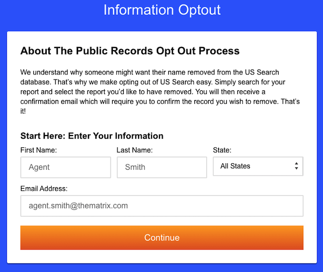 ussearch.com opt out form