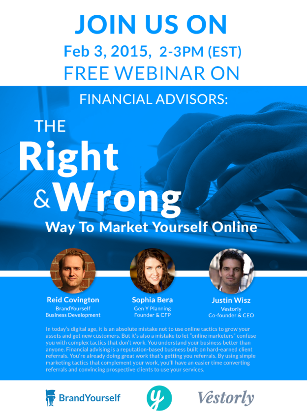 BrandYourself Financial Advisors Webinar